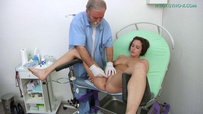 Anabelle (21 years girl gyno exam)