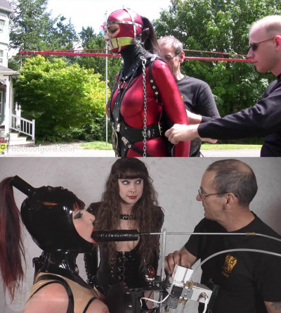 Super bondage, domination, predicament and torment for hot bitch