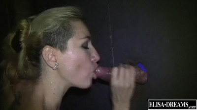 Gangbang And Gloryhole In A Swingers Club