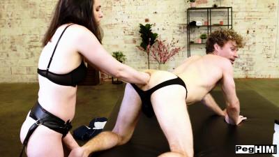 Peg Him - Casey Calvert Catches Michael Sneaking At Work