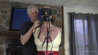 Pepper Sterling: Latex Struggles and Strict Leather Hogtie