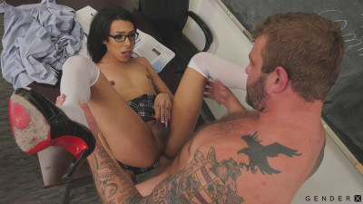 Dizzy TS Milli Quinzel Pounded By Colby Jansen