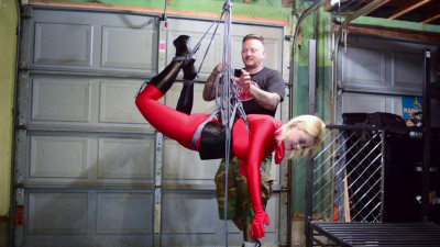 Nadia White – Living Doll Suspended and Vibed