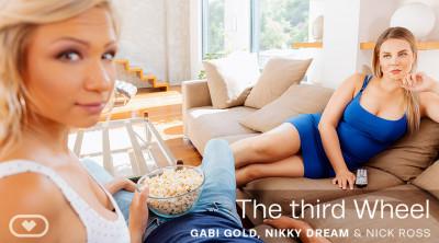 Description The Third Wheel - Gabi Gold, Nikky Dream