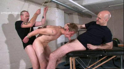 Bryan – Arsehole violently fingered, taught to suck cock