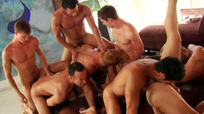 Perfect summer orgy with double penetration