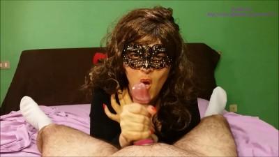 Masked Eva Cumshot Compilation 5