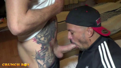 Crunchboy - Double creampied for Dante (Oscar Wood, Leon XXL, Dante)