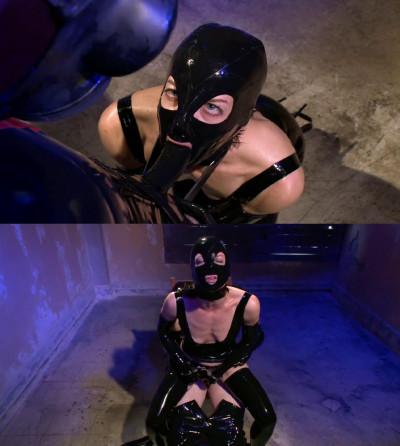 Super bondage, strappado and torture for sexy slut in latex part 1