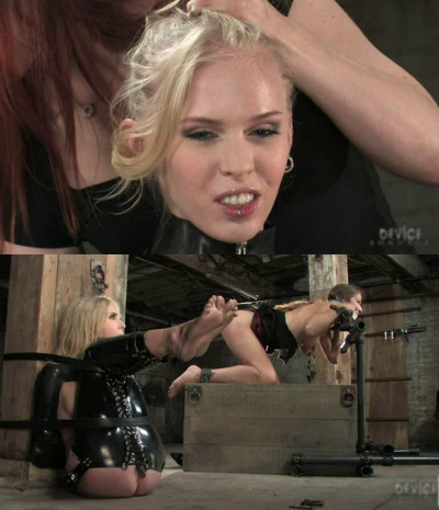Hard bondage, torture, spanking and strappado for two hot girls (Part 1)