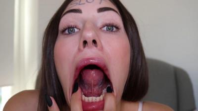 Shaiden - Mouth Fetish custom video