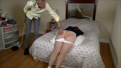Alex Sponsored Caning...