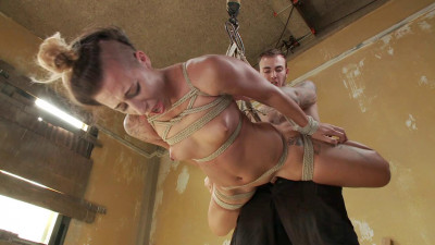 Newbie Fucked Hard in Tight Bondage - Andre Shakti & Christian Wilde - HD 720p