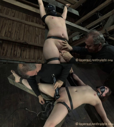 Hard bondage, torture and domination for sexy naked whore