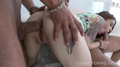 Hot super slut manhandled & assfucked