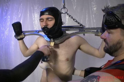 Serious Male Bondage - How To Prep A Rubber Gimp