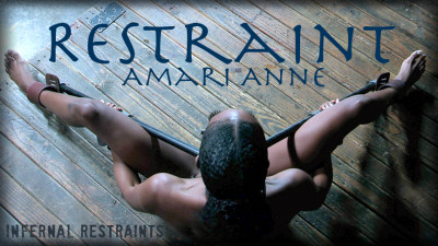 Restraint – Amari is put on display for our pleasure