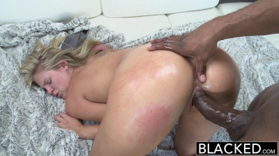 Preppy Blonde Girl Loves Big Black Dick  - Scarlet Red & Prince Yahshua - 1080p