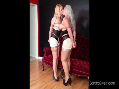 Description Kissing Lesbian Bondage Dream Turns into Damsel in Distress Reality!