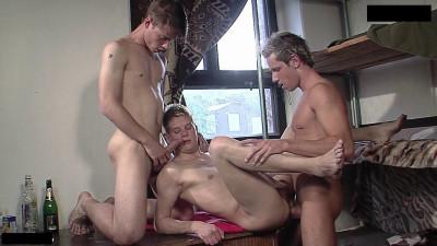 Bareback Street Gang, Scene 2 - Thomas Dyk, Jack Cool, Carey Lexes