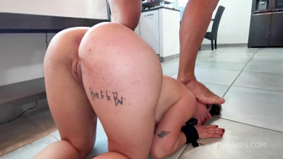 New Tiny French Dominant Girl Who Humiliates For Her First Anal - Full HD 1080p