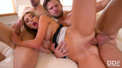 Marilyn Crystal – Hardcore MMF Magic with Blonde Stunner (2020)