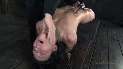 Wenona Get Roughly Deep Throated, Her Huge Nipples Bound So She Must Keep Her Legs Raised