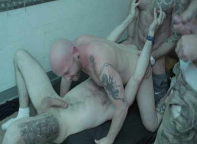 Hard orgy for rough submissive