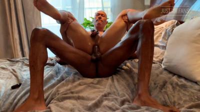 Caged Jock rides Rhyheim Shabazz bareback
