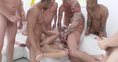 Timea Bella Gangbanged By Huge Cocks With Dap