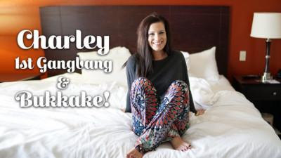 Charley's 1st Gangbang And Bukkake