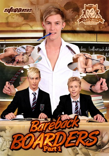 Bareback Boarders Part 1 - Justin Conway, Xander Hollis, Blake Hanson