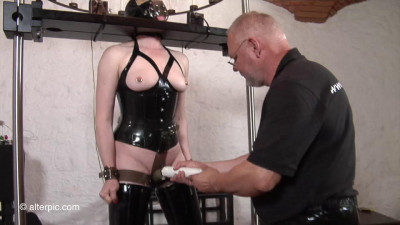 Double Penetration Electro Stimulation from Anna Rose