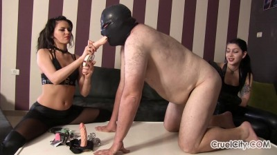 Tessa Ray & Tina Winter - Repeatedly Humiliates A Fat Slave