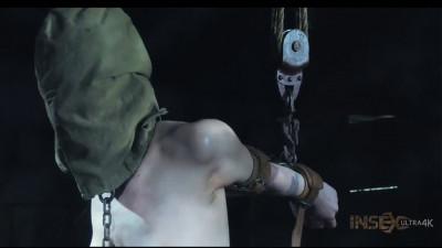 Hard bondage, spanking and torture for naked slavegirl part 3