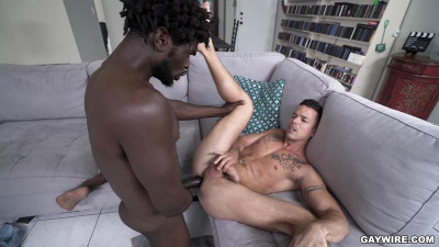 Nic Sahara and Devin Trez - Plumber Lays Wind instrument in Rectilinear Guys Ass