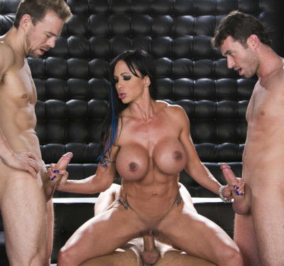Sexy MILF Takes Them On With Every Hole Shes Got