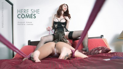 August Ames, Kendra James: Here She Comes