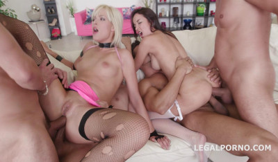 Double Anal Gangbang Party With Ria Sunn & Francys Belle