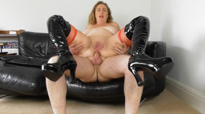Anal Mistress in boots HD