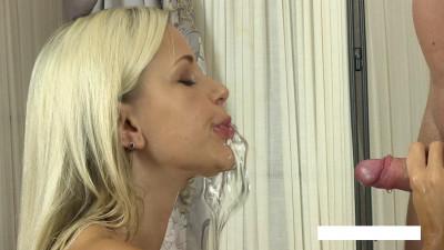 Description Mega sex with a blonde Diana