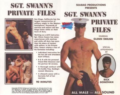 Sgt. Swann's Private Files Of Bareback (1985) — Glenn Swann,Rick Donovan