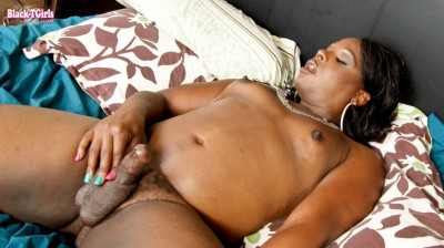 Mz buttaworth strokes her cock!