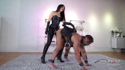 Strap-on Pony Ride - Mae Ling
