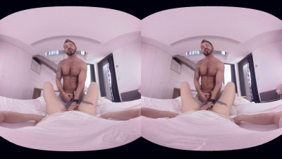 VirtualRealGay VR180 - My Bricklayer (Martin Mazza; Josh Milk POV)
