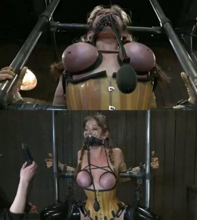 Hard bondage, strappado and torture for sexy model part2