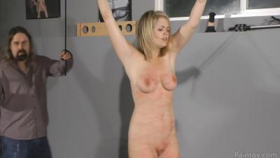 Super bondage, domination and spanking for beautiful girl