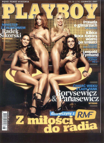Playboy Poland - Thirty-Six Issues