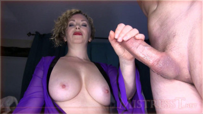 Mistress T – Ruined Orgasm For Premature Ejaculator