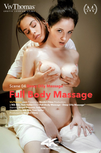 Angel Princess, Sabrisse - Full Body Massage Episode 4 - Deep Oily Massage